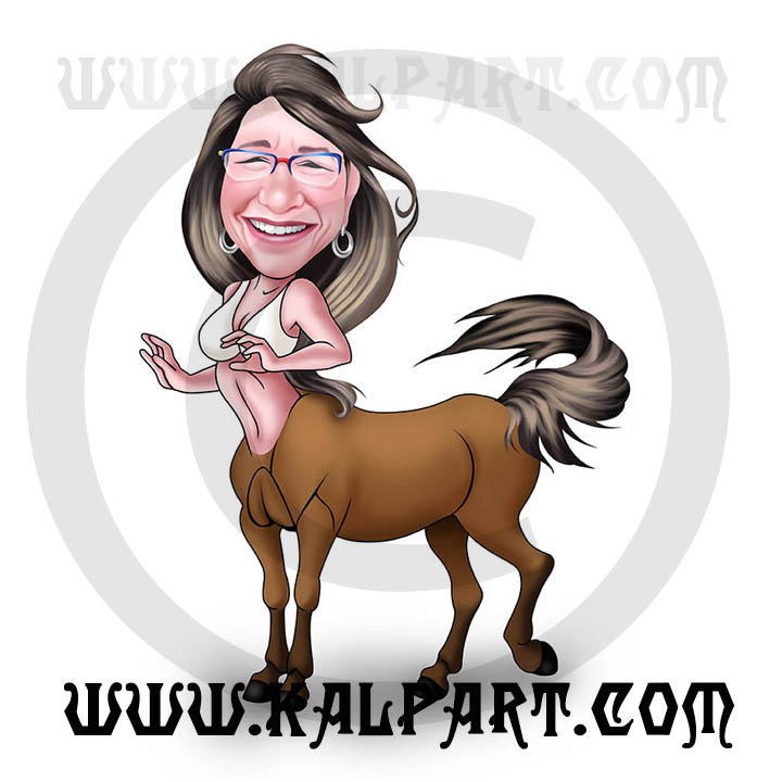 Digital Caricature from photo