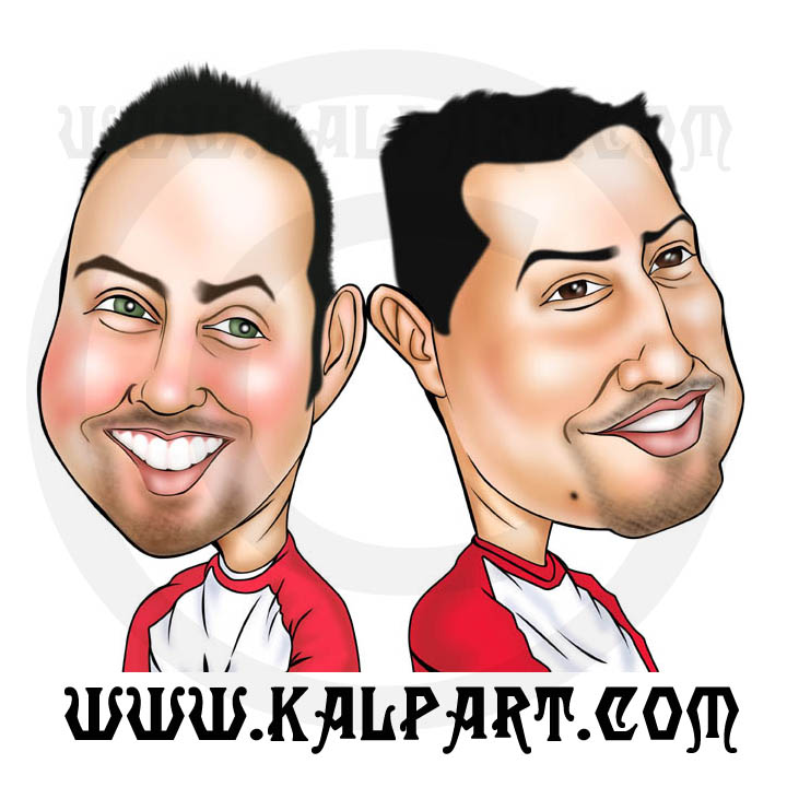 Gift Sports Caricature