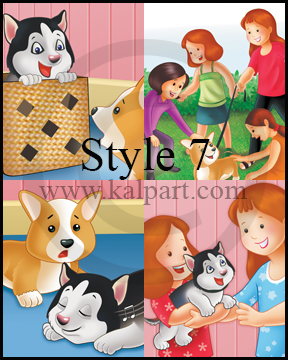 www.kalpart.com Illustrated-Children-Bedtime-Stories-Kids-Cats-kitten-Dogs